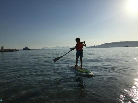 Paddle Enfant Picture Of Aqua Sport Evasion Golfe Juan