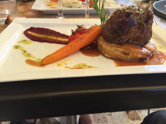 Le Patio d'Hauteville: Pavé de bœuf dans le menu a 35 euros