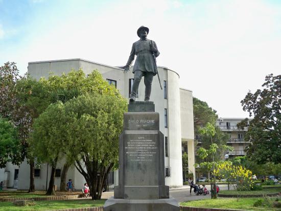 Bronze Statue of Carlo Pisacane