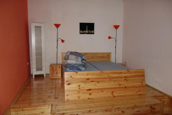 Katona Apartments: bedroom no 1 in family apartment (2 bedrooms, kitchenette and bathroom)