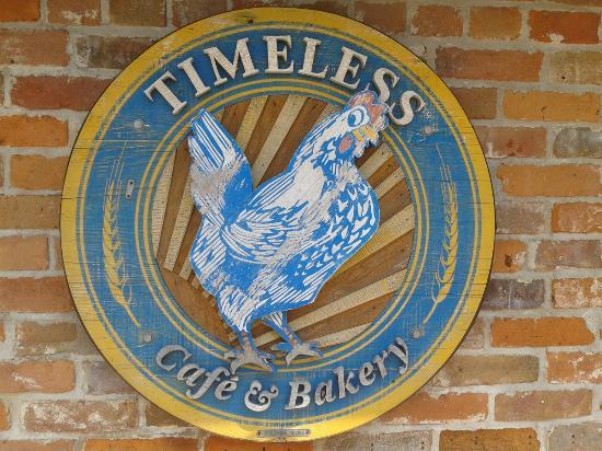 Timeless Cafe & Bakery: Logo