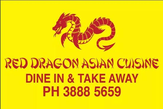 Red Dragon asian cuisine