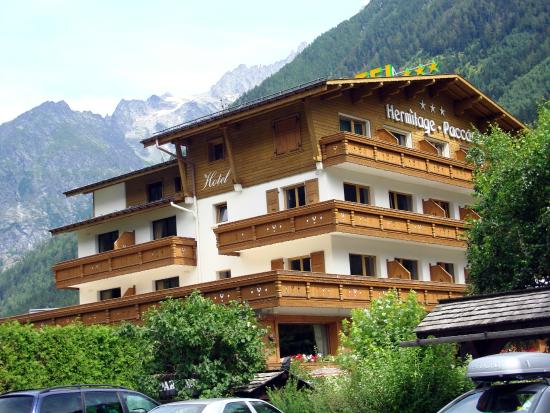 Chalet Hotel Hermitage Paccard: Outside view