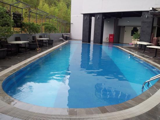 Small swimming pool - Picture of Nagoya Mansion Hotel ...