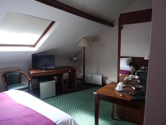 Hotel Le Monte Cristo: chambre