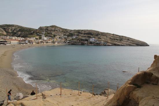 Hotel Zafiria : View from Roman caves