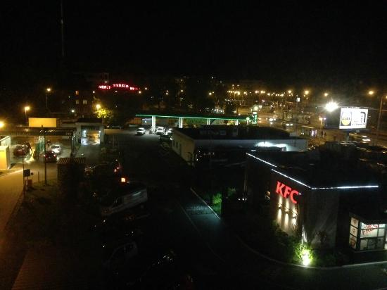 Quality System Hotel Wroclaw: View from our room