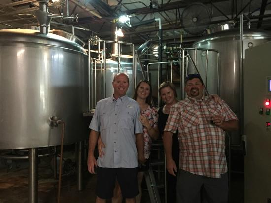 a great outing with friends. - picture of crooked letter brewing