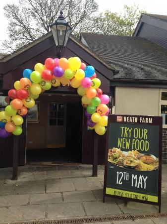 Heath Farm: New Menu Tuesday 12th May 2015