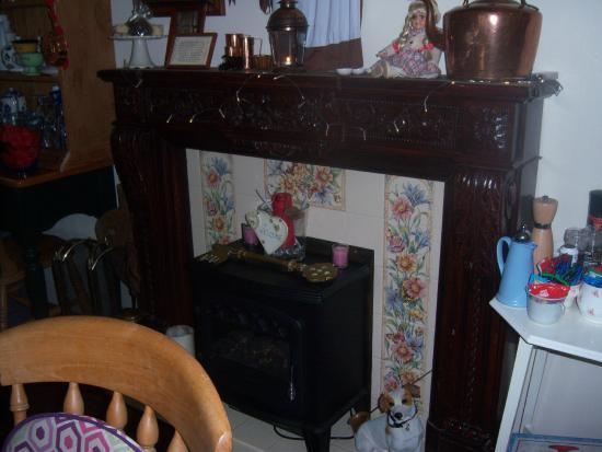 Linthorpe Tea Room: Fire Place