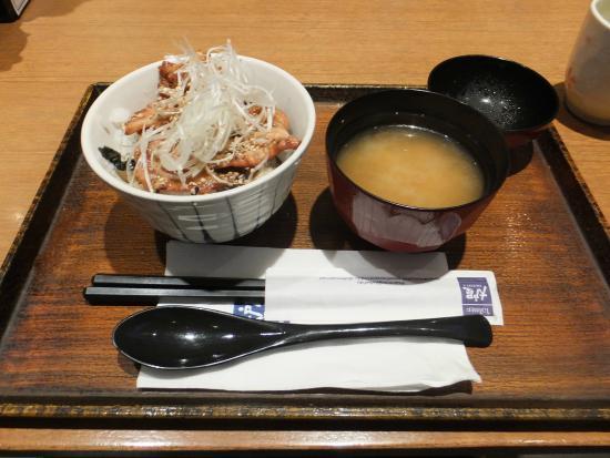 Otoya : 塩麹漬け豚丼、豚汁