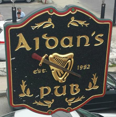 Aidan's Pub: This Sign Equals A Good Time