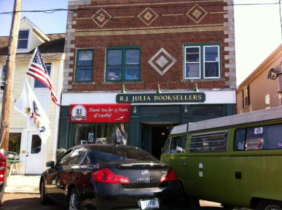 RJ Julia Booksellers: From across the street