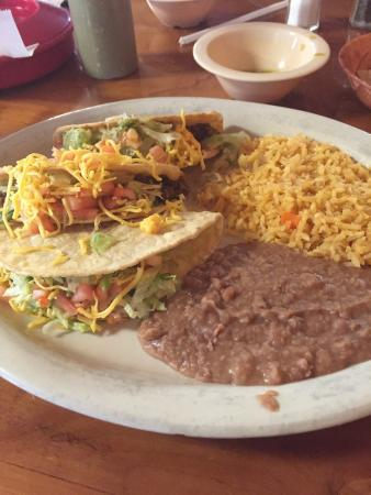 Beef Taco Plate Special