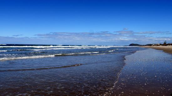 Waihi Beach Lodge: der Surfer-Strand