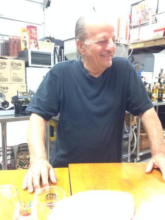 Catania's Winery: John owner of Catina's winery