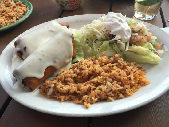 Fiesta Mexicana Restaurant : Chimichangas