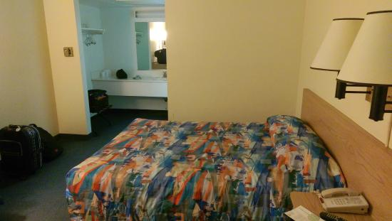 Motel 6 Buttonwillow North: Two twin beds