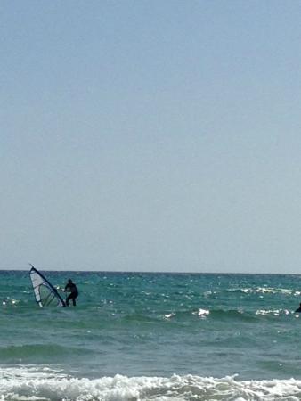 René Egli Winsurfing & Kite : Difficult conditions