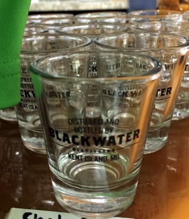 Blackwater Distilling: Shot Glasses
