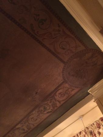 Bingley's Bistro: The Grade 2 listed ceiling!