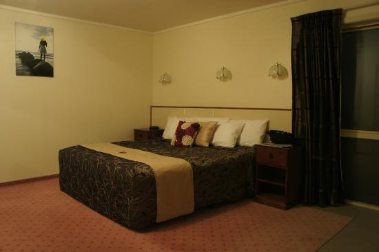 Fiordland Lakeview Motel and Apartments : Bedroom