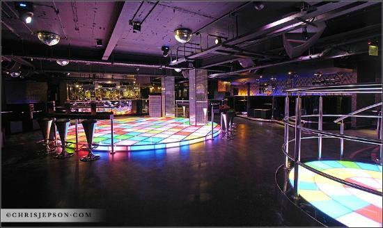 The Loop Bar: Groovy Wonderland Dancefloor