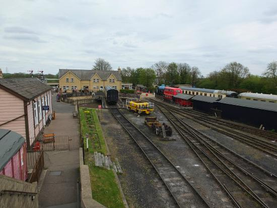 Nene Valley Railway: Wansford stock and lines