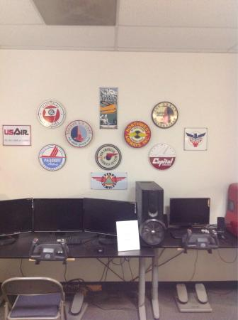 Flight Path Learning Center Museum Vintage Airline Logos