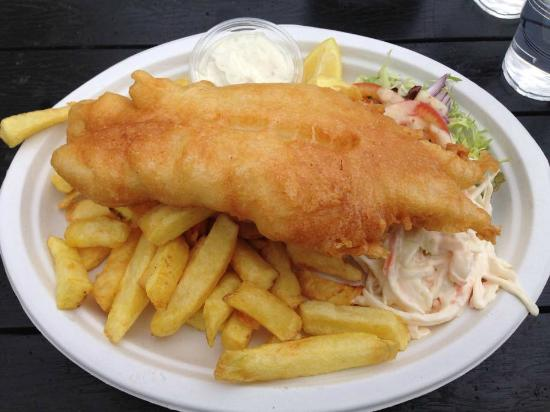 The Rocketeer Restaurant: fish and chips