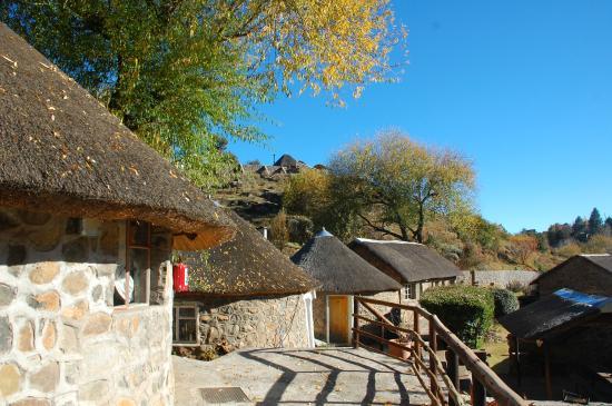 Semonkong, Lesotho: Rondavel
