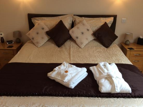 The Manor Coach House: Room 4 King Bed and special little extras