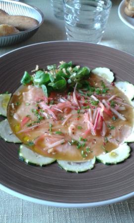 Le Gallifet: carpaccio saumon