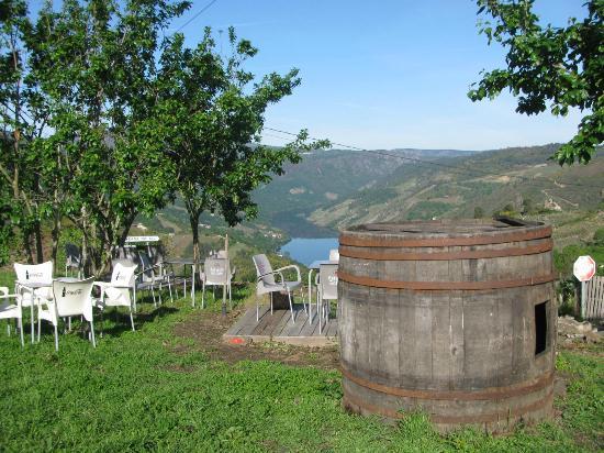 Casa Grande de Cristosende: Vistas al río Sil.