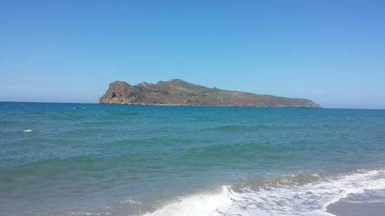 Minos Village : Veel strand
