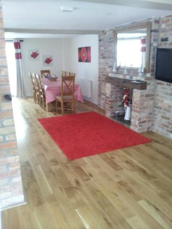 Passford Farm Guesthouse: Dining area