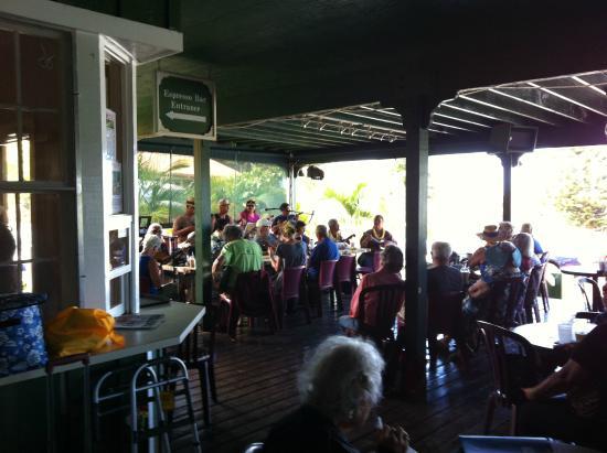 Lanai at Coffees of Hawaii