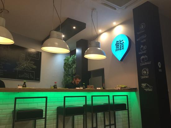 Inside Sushi corner