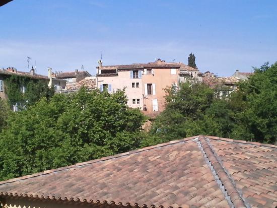 Le Clos des Medievales: Vue depuis la terrasse intérieure
