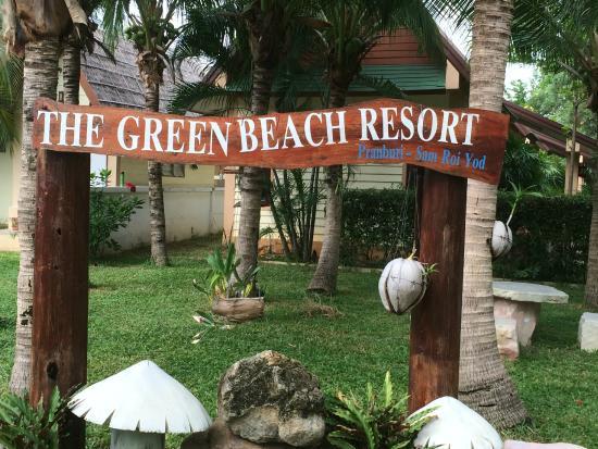 The Green Beach Resort: גינה
