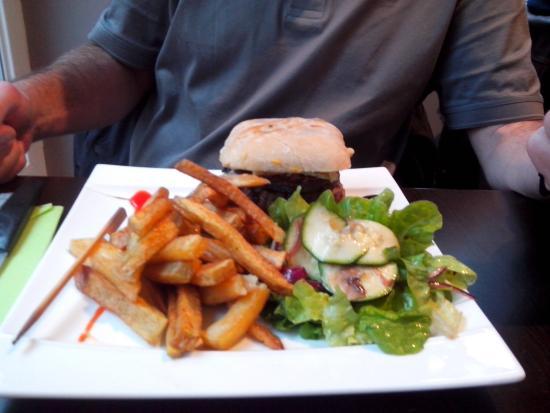 Pizzeria Le Saint Hubert : Hamburger du chef