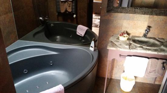 Posada d'Aneu: baño jacuzzi