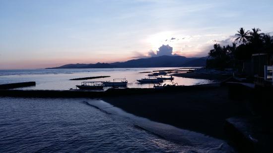 Ida Beach Village: view from hotel