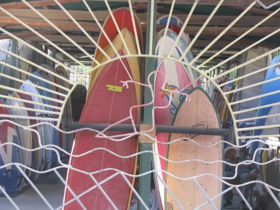 Villa Tortuga: Surfboards available