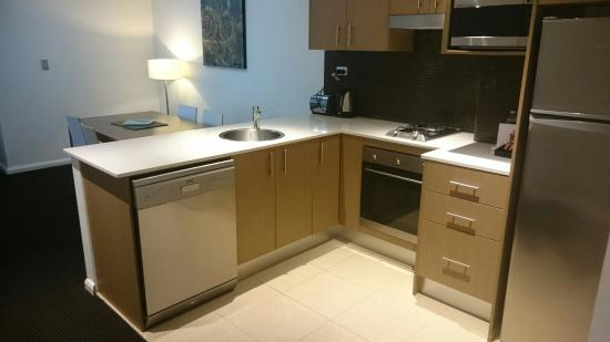 APX World Square: Room 701 - Open plan 1 bedroom apartment