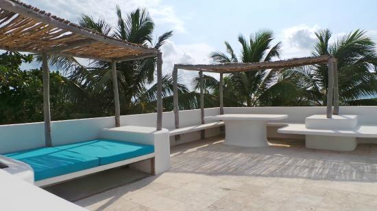 Azul Resort: Roof terrace