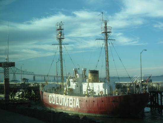 Lightship Columbia: Columbia Lightship, Astoria