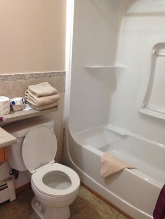Lakehead Motel: Clean, updated bathrooms!