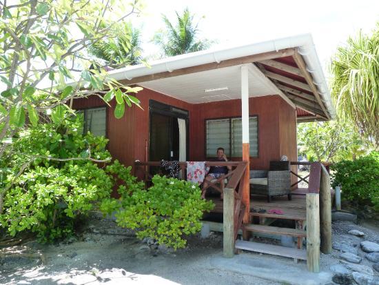 Tuamotu Archipelago, French Polynesia: Notre bungalow