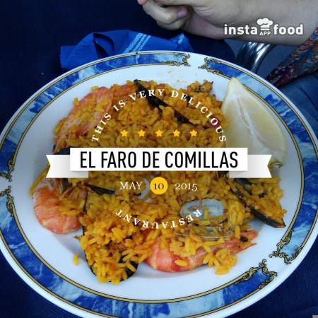 Faro de Comillas: Paella de Marisco